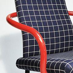 Ettore Sottsass . mandarin chair, for Knoll, 1986