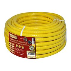 Kingfisher 730 30 m Pro Gold Reinforced Garden Hose - Yellow -- Find out more about the great product at the image link. (This is an affiliate link) #Gardening