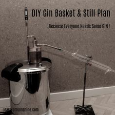 How To Make A Still – Learn to Moonshine Copper Pot Still, Copper Pots, Beer Brewing, Home Brewing, Homemade Still, Reflux Still, Gin Ingredients, Copper Moonshine Still, How To Make Gin