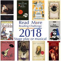 #readmore2018 #readingchallenge #books #stageplayormusical #seymourlibrary