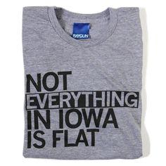 Iowa Not Flat – RAYGUN