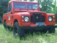land rover pickup swb seri3 1973 #cars #coches