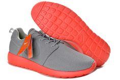 best sneakers 49429 5c178 Nike Roshe Run Medium Grey Red 511881 006 Free Running Shoes, Running Shoes  Nike,