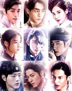 Scarlet Heart, Love Never Dies, Moon Lovers, Kdrama, Kpop, Actors, Hearts, Korean, Fandom