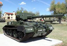 M56 Scorpion Airborne US Self-Propelled Anti-Tank Gun