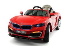 BMW STYLE 12V ELECTRIC KIDS RIDE-ON CAR WITH PARENTAL REMOTE | RED