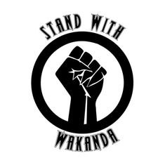 Black Panther - Stand With Wakanda, T'Challa