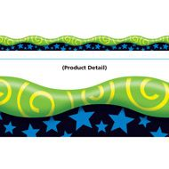 New Wave Swirls–Yellow & Green Terrific Trimmers® | TRENDenterprises.com