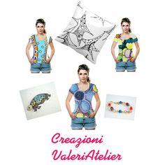 """Creazioni ValeriAtelier"" by valeriatelier on Polyvore"