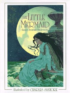 絵本 The Little Mermaid: The Original Story (Charles Santors)