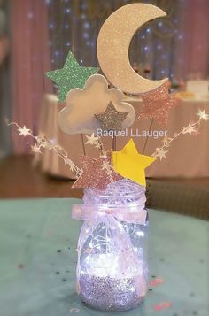 Ideas baby shower themes neutral twinkle twinkle gender reveal for 2019 - Baby shower - Ideas baby shower themes neutral twinkle twinkle gender reveal for 2019 The E - Baby Shower Themes Neutral, Baby Girl Shower Themes, Girl Baby Shower Decorations, Baby Shower Gender Reveal, Baby Shower Centerpieces, Gender Reveal Party Themes, Gender Reveal Decorations Diy, Baby Gender, Themes For Baby Showers