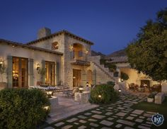 Portfolio of AZ luxury custom homes in Paradise Valley, Scottsdale, Silverleaf and Phoenix from Desert Star Construction, premier custom home builders in Arizona Mediterranean Architecture, Mediterranean Style Homes, Spanish Style Homes, Custom Home Builders, Custom Homes, Estilo California, Desert Homes, Italian Villa, Tuscan Style