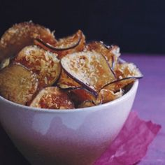 Crisp Eggplant Chips Recipe - Epicurious & ZipList