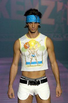 Andrew MacKenzie S/S 2005 Menswear
