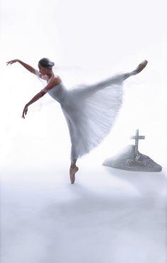 Jin Yao in Giselle, The Hong Kong Ballet. Photography : Almond Chu