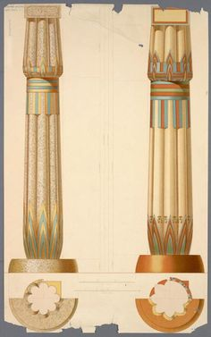 Ancient Egyptian Architecture Columns History Of The Column On