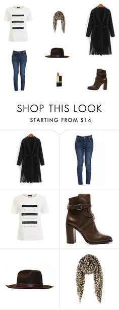 """Untitled #6099"" by mie-miemie ❤ liked on Polyvore featuring moda, Vince Camuto, Chan Luu, Revlon, women's clothing, women, female, woman, misses i juniors"