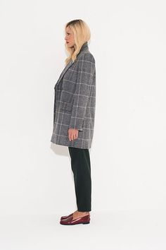 Credit: David Newby Barbara wears coat, £689, by Vanessa Bruno, from fenwick.co.uk. Trousers, £79, ...