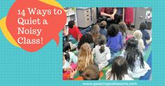 14 Ways to Quiet a Noisy Class | The TpT Blog | Quieting a class is the first step in managing them. The following are a few tried and tested ideas to help get their attention. Classroom management ideas that work across grade levels: