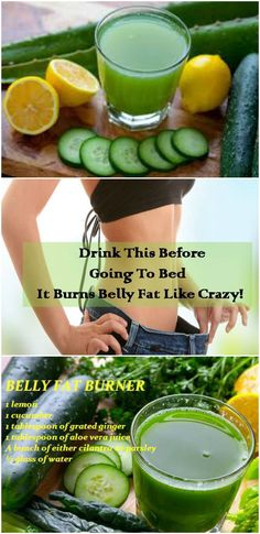Drink This Before Going To Bed It Burns Belly Fat Like Crazy