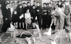 Josef Albers' Bauhaus Preliminary class, 1928