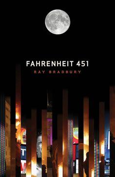 Paul Bartlett's cover for Fahrenheit 451