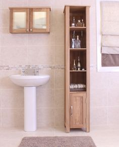 High Cabinet With Cleaning Google Search My Sweet Home Idea Pinterest Bathroom Cupboards Narrow And White Furniture