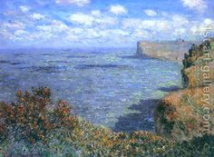 """Claude Monet (French, Impressionism, View taken from Greinval, Private Collection. """"The light constantly changes, and that alters the atmosphere and beauty of things every minute. Claude Monet, Monet Paintings, Landscape Paintings, Artist Monet, Art Japonais, Impressionist Paintings, Oil Painting Reproductions, Renoir, Beautiful Paintings"""
