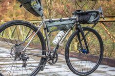 Why Cycles R+ Review, Titanium gravel adventure bike, bikepacking, Apidura bags
