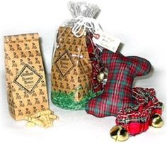 Night Before Christmas Gift Set for Dogs pets Biscuits/Cookies