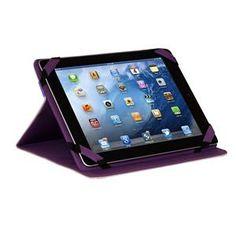 iPad Folio Case & Adjustable Stand - Tree of Life Purple