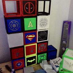 My Hobby#3Dprinting #creative #superhero #nightlights #projects by erichill2023