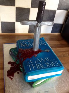 Game of thrones cake  Helen Backhouse