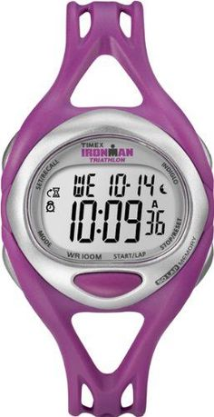 Timex Women's Quartz Watch with LCD Dial Digital Display and Pink Resin Strap T5K759SU -- Additional details at the pin image, click it  (This is an amazon affiliate link. I may earn commission from it)