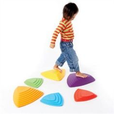 River Stones Sensory Toy (I think I can diy something like these....)