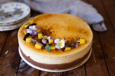 A Mango Saint Marc is a delicious layered dessert of mango bavaroise and chocolate mousse sandwiched between two slices of joconde. Mousse, Mango Puree, Ground Almonds, Round Cakes, Melting Chocolate, Fresh Herbs, Tray Bakes, Food Grade, Pastries