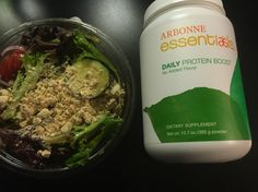 Add 10gms of vegan/gluten free protein to any meal, shake or recipe, with Arbonne's NEW DAILY PROTEIN BOOST!! No sugars, flavorless and soy and whey free! Find it now at erikapetersen.arbonne.com > shop Arbonne.