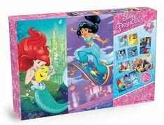 Disney Princess Puzzle by Cardinal Games, Multicolor Disney Princess Puzzles, Princess Games, Floor Puzzle, Puzzle Box, Cardinals Game, Anna Disney, Snitch, Princess Jasmine, Hanging Out