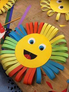 Einfache Sommer Bastelideen für Kinder