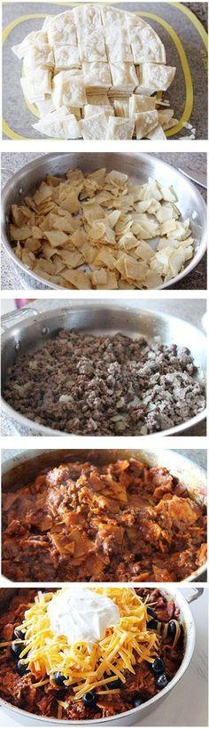Beef-Skillet-Enchiladas-Recipe by jetta.noble