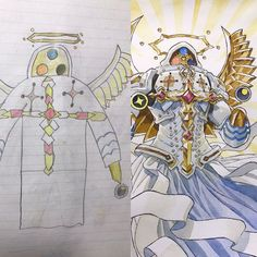 Artist and dad Thomas Romain turns his son's designs into father son art. To keep his kids drawing, Romain asks for support through a Patreon page. Thomas Romain, Art Thomas, Creature Drawings, Animal Drawings, Art Drawings, Character Design Cartoon, Character Art, Anime Style, Illustration Kawaii
