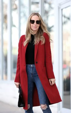 OOTD: Brooklyn Blonde Paints the Town Red #RueNow