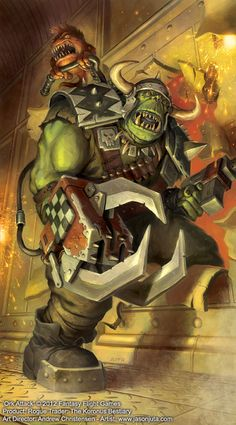 The Warboss is the highest position in a large Ork Waaagh! he is always the biggest, strongest and most cunning Ork in any given grouping of such creatures, and gets the best armour, weapons, and. Warhammer 40k Art, Warhammer Models, Warhammer Fantasy, Martial, Orks 40k, Tyranids, Space Wolves, Game Workshop, Space Marine