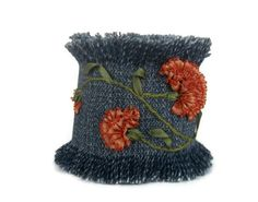 Embroidered Cuff Bracelet
