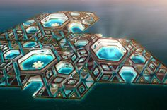 Plans Unveiled For A Floating Future City