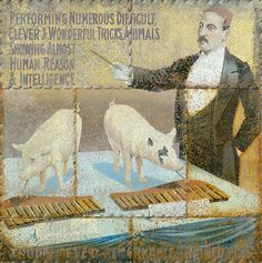 Clever and wonderful, 2002  Öl auf Holzplatte  154 x 154 cm  © Nachlass des Künstlers  Foto: Archiv des Künstlers Museum, Painting, Image, Pictures, Wood Slab, Archive, Art, Painting Art, Paintings