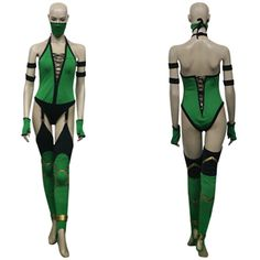Mortal Kombat Jade: I'm not brave enough to rock this but if I were.... $272.95