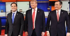 The GOP candidates – and the state of the Union – in February 2016