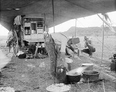 The Matador Wagon cook [Harry Stewart] making a cobbler. Matador Ranch, Texas, 1906 Erwin E. Cowboy Art, Cowboy And Cowgirl, Old Pictures, Old Photos, Vintage Photographs, Vintage Photos, Cowboy Ranch, Western Art, Western Photo