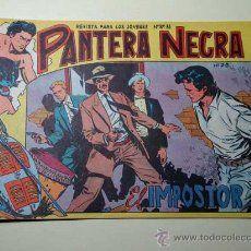 PANTERA NEGRA Nº 28. EL IMPOSTOR. PEDRO QUESADA Y JOSÉ ORTIZ. EDITORIAL MAGA 1964 DE 2 PTS. ++